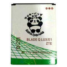 Baterai/Battery Double Power Double Ic Rakkipanda ZTE Q Lux / Bolt E1 4500mAh