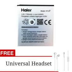 Baterai Battery Haier Smartfren Andromax G2 + Gratis Universal Headset