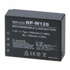 Baterai Camera Digital Fujifilm NP-W126 FinePix HS30EXR X-Pro1 (OEM) - Black