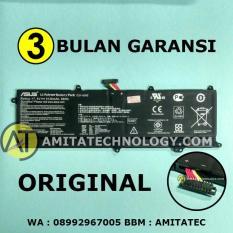Baterai Laptop ORIGINAL Asus X201 X201E X202E S200 S200E C21-X202