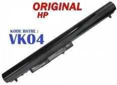 Baterai Laptop ORIGINAL HP Pavilion 14 15 Series/ Sleekbook 14 VK04
