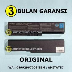 Amita - Baterai Laptop ORIGINAL Toshiba PA3634U-1BRS U400 L510 M300 L310 C640