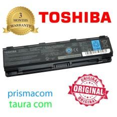 Baterai Laptop Original Toshiba Satelite C800 C800D C840 C845 C850 C855 C870 L800 L840 L845 L850 L855 L870D, M800 M840 M845 M850, P800 P840 P850 P870 P875D / Satellite S840 S840D / PA5023 PA5024 PA5025 PA5026 PA5027 PABAS259 PABAS260
