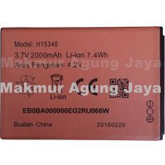 Baterai Modem Smartfreen MIFI Andromax M2Y Battery M2Y WiFi Batrei Andromax M2Y 2000 mAh Original Merah