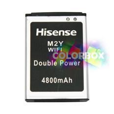 Baterai Modem SmartFren MIFI Andromax M2Y Battery Hisense M2Y WIFI Double Power Batrei Andromax M2Y 4800 mAh Hisense Original Hitam