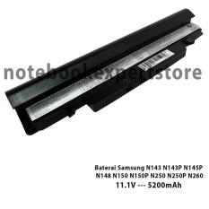 Kualitas Baterai Samsung N148 N150 N143 N143P N145P N150P N250 N250P N260 Black Multi
