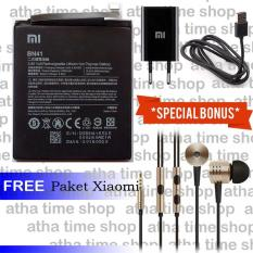 Review Baterai Xiaomi Bn41 For Xiaomi Redmi Note 4 4000 Mah Special Bonus Charger Headset Piston Xiaomi