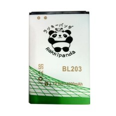 Baterai/Battery Double Power Double Ic Rakkipanda Lenovo A369i / A269i / A316 / A66 / A276 / Lenovo BL203 / BL214 [4000mAh]