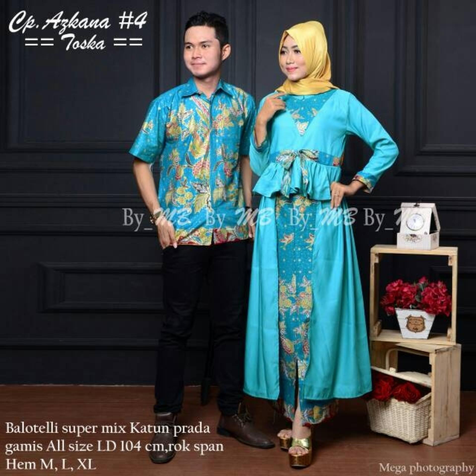 Batik Couple / Batik Sarimbit / Baju Kondangan Princess Azkana 4