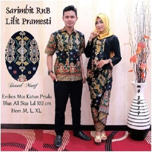 Batik Kondangan / Batik Couple / Batik Sarimbit RnB Lilit Pramesthi