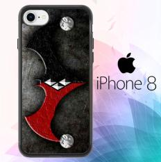 BATMAN HARLEY MERGE OF THE SYMBOL Z1099 iPhone 8 Case