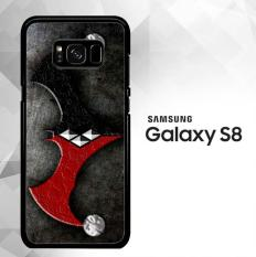 BATMAN HARLEY MERGE OF THE SYMBOL Z1099 Samsung Galaxy S8 Case
