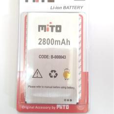 BATTERY BATRE BATERAI MITO BA-00043 / T550