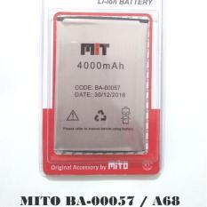 Harga Battery Batre Baterai Mito Ba 00057 A68 Original