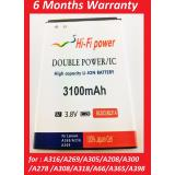 Harga Battery Batre Bateraii Double Power Lenovo Bl203 Bl 203 Bl214 Bl 214 A369 A316 A269 A305 A208 A300 A278 A308 A318 A66 A365 A398 Merk Hifi Hi Fi Power Indonesia