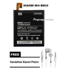 Spesifikasi Battery For Xiaomi Mi4 3000Mah Bm32 Black Free Handsfree Xiaomi Piston Murah Berkualitas