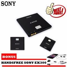 Battery Sony Xperia Zr Ba950 Original Free Handsfree Sony Ex300 Original