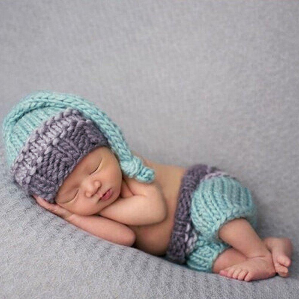 Review Bayi Baru Lahir Crochet Knit Foto Fotografi Prop 2 M Di Tiongkok