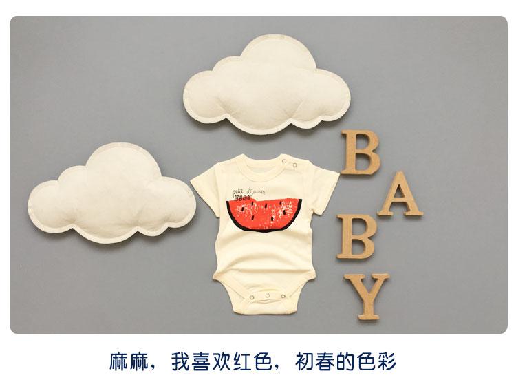 Bayi Musim Panas Paket Kentut Pakaian Romper