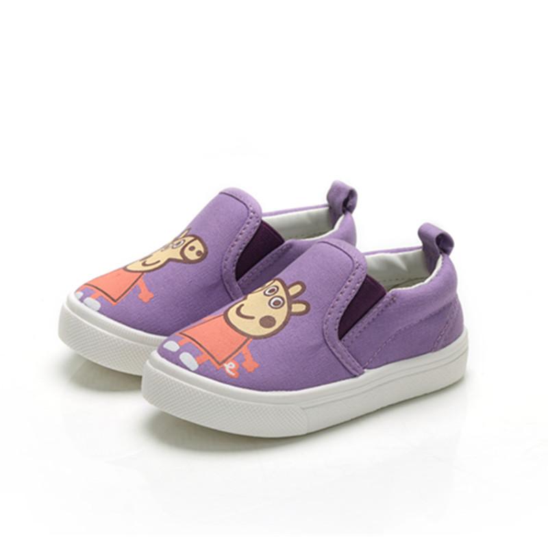 Jual Bayi Pijakan Empuk Musim Semi Baru Anak Anak Sepatu Kanvas