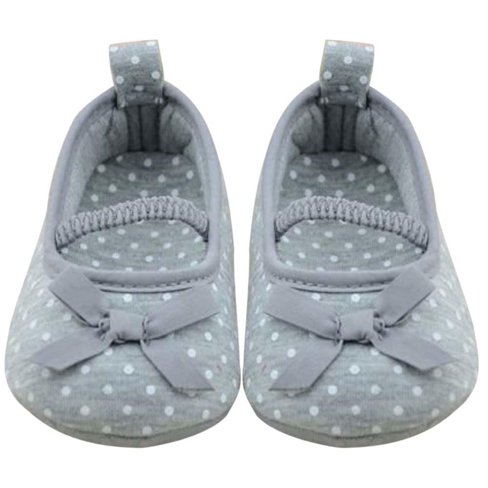 Toko Bayi Yang Baru Lahir Prewalker Sepatu Butterfly Bunga Sepatu Grey Intl Online