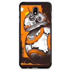 Bb-8 Rolling Droid Minimalist X4817 Samsung Galaxy J3 Pro 2017 Custom Hard Case