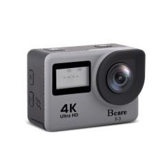 Bcare BCam X-3 Action Camera WiFi 16 MP SonySensor 4K DUALSCREEN Grey