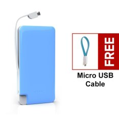 Beli Bcare Power Bank 7800 Mah B Care Slim Original Biru Cicilan