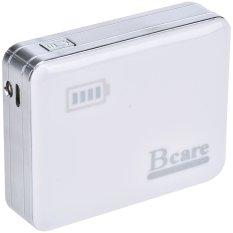Harga Bcare Power Bank Mp 77 6200 Mah Dual Output Putih Original