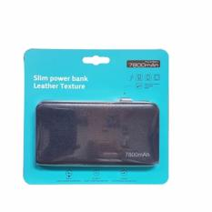 Bcare Power Bank Slim Leather 7800 Mah Original -Hitam