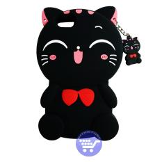 Bcs Little Cat Hitam Soft Sillicon Phone Case For Oppo A39