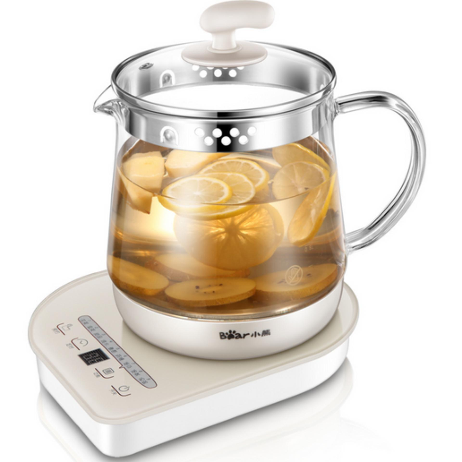 Ulasan Lengkap Tentang Bear Ysh A15M1 Full Automatic Multi Function Thickening Glass 1 5L Intelligent Health Pot Grey Intl