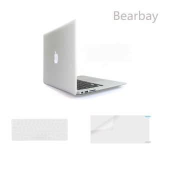 ... Touch Source · Bearbay 3 In 1 Soft Plastik Wadah Cover untuk 13 inch MacBook Pro 13 3 Inci