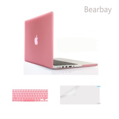Bearbay 3 in 1 Soft-Touch Plastic Hard Case Cover for 13-inch Macbook Pro 13.3