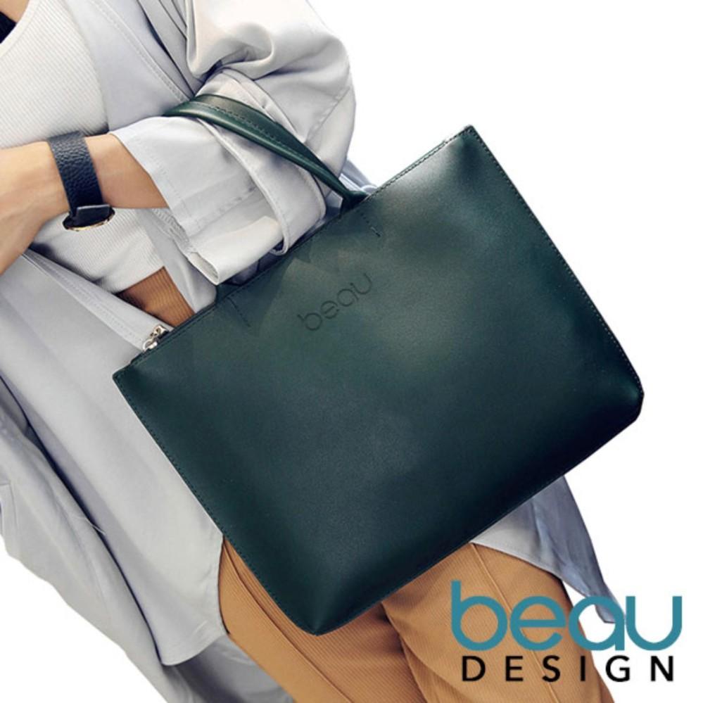 Toko Beau Design Tas Wanita Kulit Sintatis Bahu Women Tote Bags Lengkap