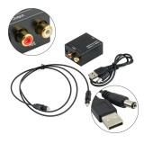 Toko Beau Digital Optical Coaxial Toslink Untuk Sinyal Analog Konverter Audio Usb Rca Intl Termurah Tiongkok