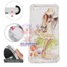 Beauty Case Anti Crack 3D Oppo F1S A59 Case Luxury Animasi Perempuan Memakai Kamera Softcase Anti Jamur Air Case 0.3mm / Silicone Oppo A59 / Soft Case / Silikon Anti Shock / Case Hp / Jelly Case Oppo F1S / Anti Crack Gambar / Case Unik - 14