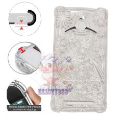 Beauty Case Anti Crack 3D Xiaomi Redmi 3S Case Luxury Baju Gaun Pernikahan Softcase Anti Jamur Air