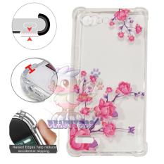 Beauty Case Anti Crack Oppo A33 Neo 7 Case 3D Luxury Animasi Vintage Bunga Mawar Pink Softcase Anti Jamur Air Case 0.3mm / Silicone Oppo A33 / Soft Case / Silikon Anti Shock / Case Hp / Jelly Case Oppo Neo 7 / Anti Crack Gambar / Case Unik - 5