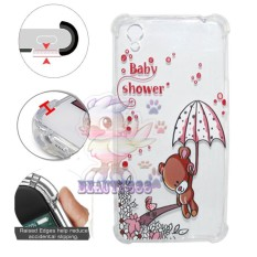 Beauty Case Anti Crack Oppo A37 Neo 9 Case 3D Luxury Animasi Beruang Coklat Imut Softcase Anti Jamur Air Case 0.3mm / Silicone Oppo A37 / Soft Case / Silikon Anti Shock / Case Hp / Jelly Case Oppo Neo 9 / Anti Crack Gambar / Case Unik - 4