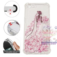 Beauty Case Anti Crack Oppo A39 Case 3D Luxury Animasi Perempuan Gaun Pink Softcase Anti Jamur Air Case 0.3mm / Silicone Oppo A39 / Soft Case / Silikon Anti Shock / Case Hp / Jelly Case Oppo A39 / Anti Crack Gambar / Case Unik - 8