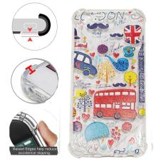 Beauty Case Anti Crack Oppo F1S A59 Case 3D Luxury Animasi London Bus Inggris Softcase Anti Jamur Air Case 0.3mm / Silicone Oppo A59 / Soft Case / Silikon Anti Shock / Case Hp / Jelly Case Oppo F1S / Anti Crack Gambar / Case Unik - 3