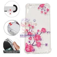 Beauty Case Anti Crack Oppo F1S A59 Case 3D Luxury Animasi Vintage Bunga Mawar Pink Softcase Anti Jamur Air Case 0.3mm / Silicone Oppo A59 / Soft Case / Silikon Anti Shock / Case Hp / Jelly Case Oppo F1S / Anti Crack Gambar / Case Unik - 5