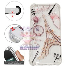 Beauty Case Anti Crack Oppo F1S A59 Case 3D Luxury Animasi Vintage Menara Eiffel Paris Softcase Anti Jamur Air Case 0.3mm / Silicone Oppo A59 / Soft Case / Silikon Anti Shock / Case Hp / Jelly Case Oppo F1S / Anti Crack Gambar / Case Unik - 2