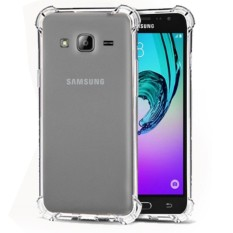 Beauty Case Anti Shock Samsung J3  2016 / Anti Crack Samsung j3 2016  Elegant Softcase for Samsung Galaxy J3 2016 (J310) - White Clear
