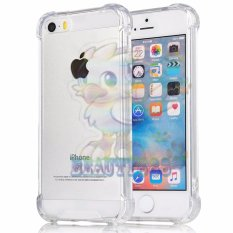 Beauty Case For Apple iPhone6+ / iPhone 6 Plus / iP 6G+ / iPhone 6S+ / iP 6 Plus Ukuran 5.5 inch  Ultrathin Anti Shock Elegant Softcase Anti Jamur Anti Crack Air Case 0.3mm / Silicone iPhone 6 Plus / Soft Case / Case Hp - Putih Transparant