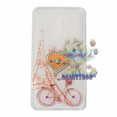 Beauty Case For Xiaomi Redmi Note 4 Softshell Animasi Vintage Bicycle Love + Holder Ring Love