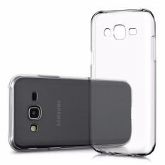 Beauty Jelly Case Samsung Galaxy J1 J100 Luxury Softcase Ultrathin Anti Jamur Air Case 0.3mm / Silicone Samsung Galaxy J1 Soft Case / Silikon / Case Hp / Jelly Case / Softshell Samsung J1 - Putih Transparant
