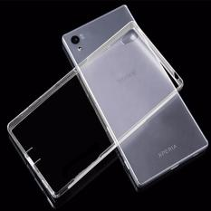 Beauty Jelly Case Sony Xperia C5 Luxury Softcase Ultrathin Anti Jamur Air Case 0.3mm / Silicone Sony Xperia C5 Soft Case / Silikon / Case Hp / Jelly Case / Softshell Sony C5 - Putih Transparant