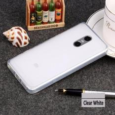 Beauty Jelly Case Xiaomi Redmi Note 4x Luxury Softcase Ultrathin Anti Jamur Air Case 0.3mm / Silicone Xiaomi Redmi Note 4X Soft Case / Silikon / Case Hp / Jelly Case / Softshell Xiaomi Note 4X - Putih Transparant